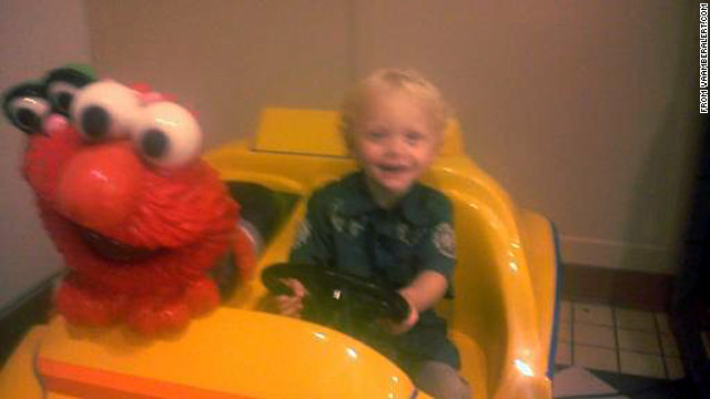 Kaiden Gage Burnside was last seen wearing a red plaid shirt and a cream-colored vest with a Christmas tree.