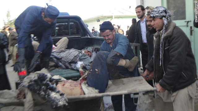 Suicide bomber targets Afghan funeral procession - CNN