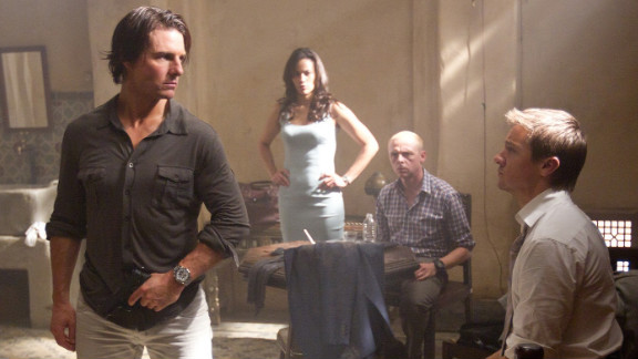 """Mission: Impossible -- Ghost Protocol"" has grossed nearly $59 million since its release on December 16."