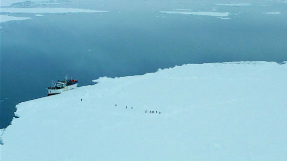 The Russian vessel  fishing vessel Sparta has been stranded off the coast of Antarctica since December 16.