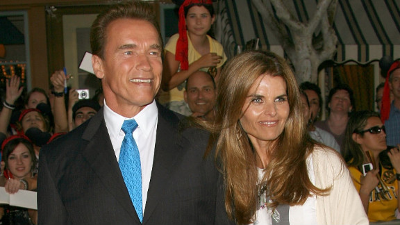 Arnold Schwarzenegger and Maria Shriver, shown here in 2006, announced their separation in May.