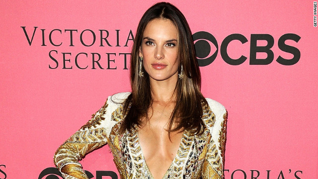 Alessandra Ambrósio flaunted a fit and trim physique at last month's Victoria's Secret Fashion Show.