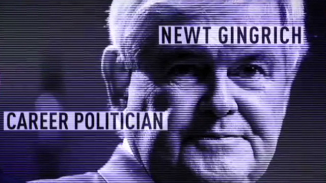 Ron Paul ad on Gingrich selling access