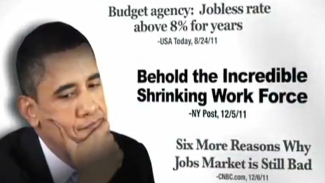 Mitt Romney ad criticizes Obama job plan