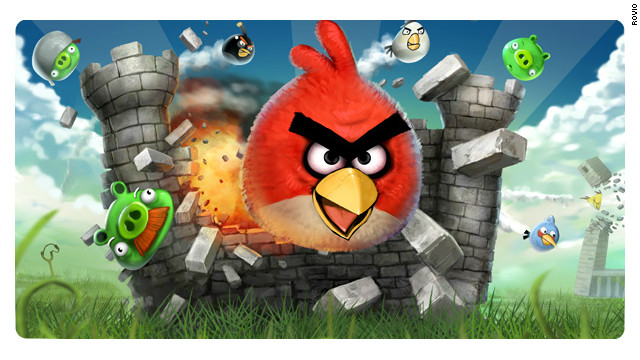 "Casual game ""Angry Birds"" has expanded beyond phones and tablets to become a pop culture blockbuster."
