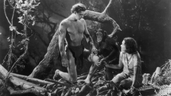 Johnny Weissmuller and Maureen O