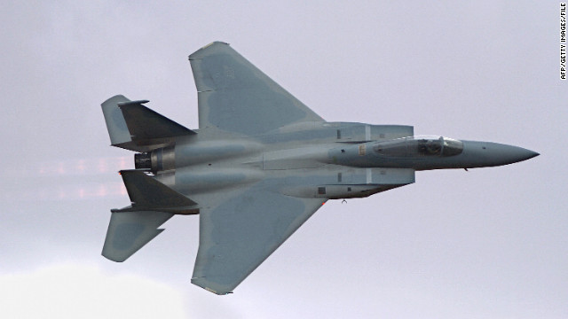 Two F-15s scrambled in hijack alert
