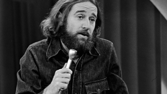 """American comedian George Carlin's sketch that included what he called the """"heavy seven"""" words landed him in jail, with a fine by the FCC. The case would ultimately go to the U.S. Supreme Court. The """"dirty seven,"""" as they became, were deemed prohibitable during hours when children were likely to be in the audience."""