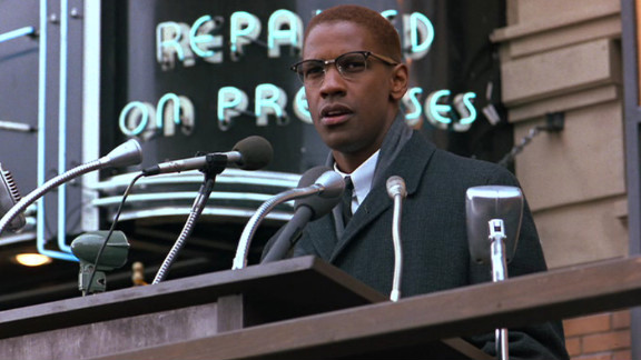 "Denzel Washington portrayed Malcolm X in the film ""Malcolm X,"" which was directed by Spike Lee. His performance as the black nationalist leader earned him an Oscar nomination for best actor."
