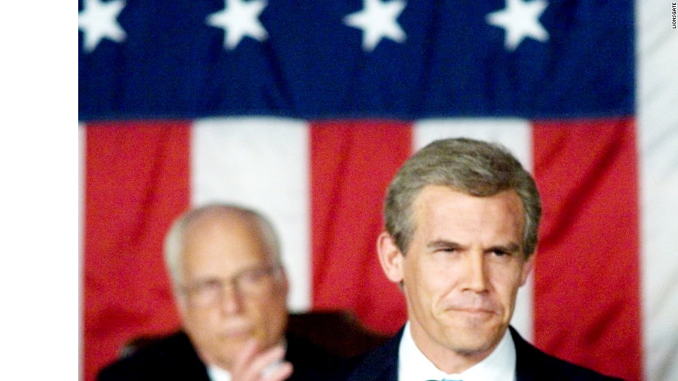 "Josh Brolin played President George W. Bush in the Oliver Stone-directed film ""W."""