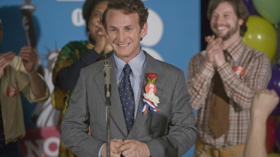 "Sean Penn played Harvey Milk, an openly gay politician and the first to be elected to public office in California, in ""Milk."" For his performance, Penn won the Oscar for best actor."