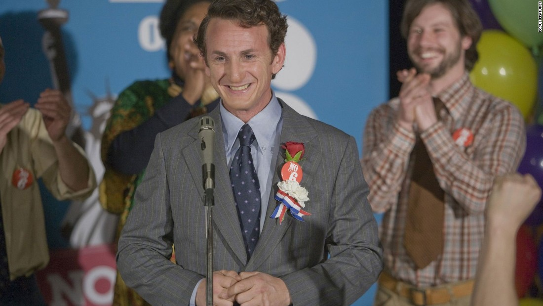 "Sean Penn played Harvey Milk, an openly gay politician and the first to be elected to public office in California, in the 2008 film ""Milk."" For his performance, Penn won the Oscar for best actor."
