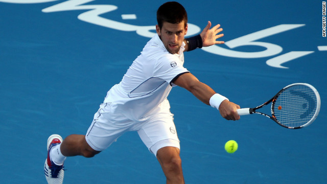 Novak Djokovic looks to be over the injuries that hampered him towards the end of last season.