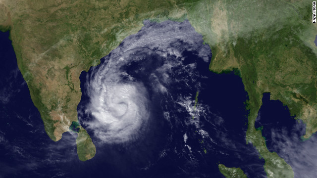 Cyclone Thane pummels India