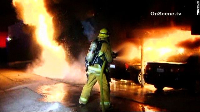 Officials are offering a $60,000 reward for information leading to an arrest in a Friday morning arson spree in the Hollywood area.