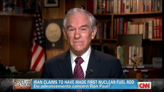 Ron Paul:  I care about nuclear Iran
