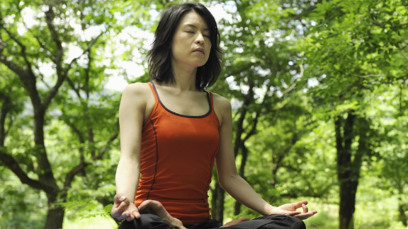 A spiritual lifestyle that includes prayer and meditation seems to reduce stress.