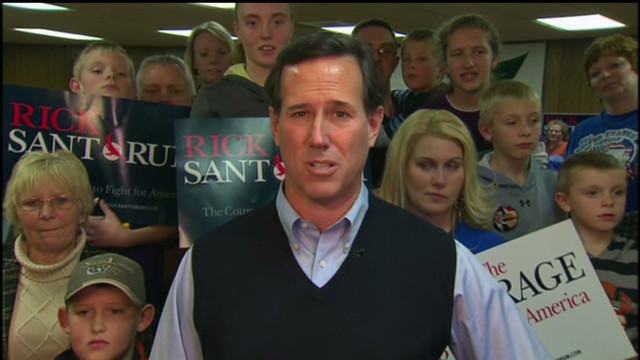 Santorum explains 2008 Romney backing