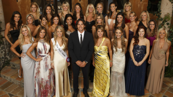 """ABC's """"The Bachelor"""" in which 25 women compete for the affections of one man, corrupts the idea of courtship, say experts."""