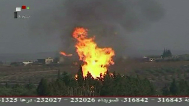 Syrian gas pipeline attacked