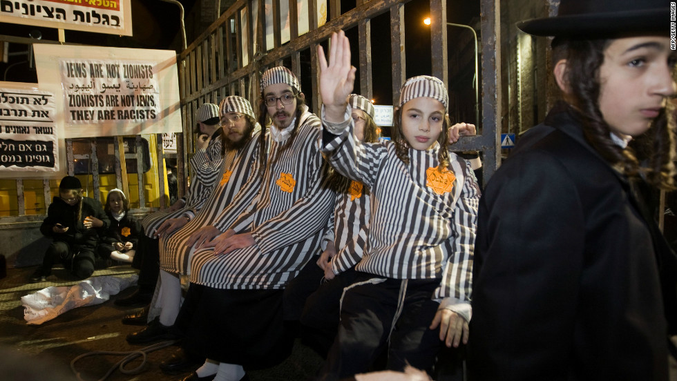 Tensions Rise In Israel Between Ultra Orthodox Jews And Mainstream
