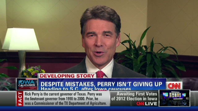 Perry: Long way from being over