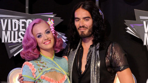 """They were very affectionate, always holding hands,"" a source who knows Katy Perry and Russell Brand said."