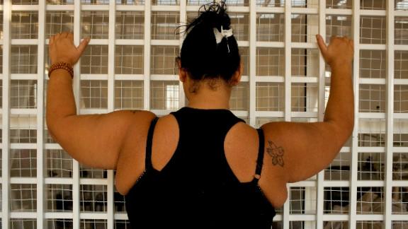 An inmate of Baabda Women
