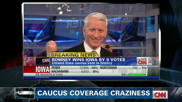 Caucus coverage craziness