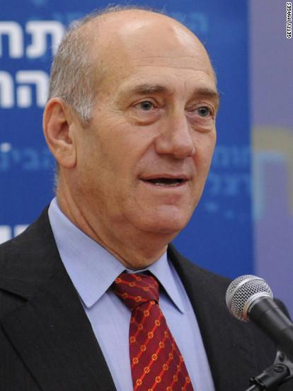 Ehud Olmert Fast Facts