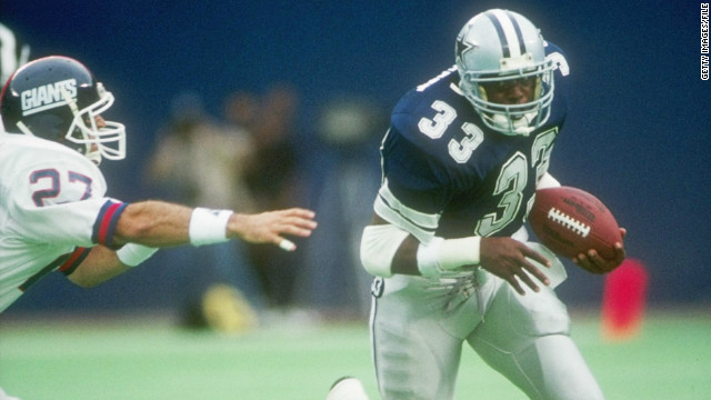 The Dallas Cowboys' history is so packed with legends, such as Tony Dorsett, it will take decades for the Texans to catch up.