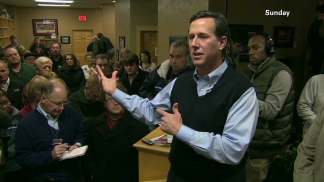 Santorum and race issues