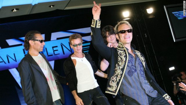 David Lee Roth was up to his old tricks when he reunited with Van Halen in 2007