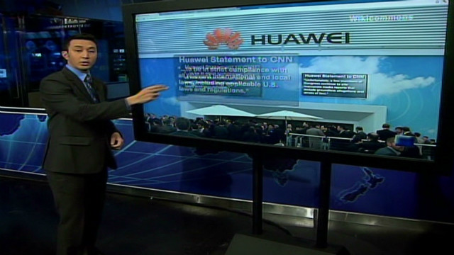 Huawei on the hot seat