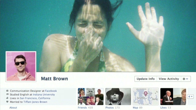 New Facebook look baffles some