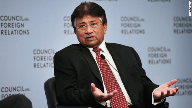 Former Pakistani president Gen. Pervez Musharraf speaks at the Council on Foreign Relations in November in New York City.