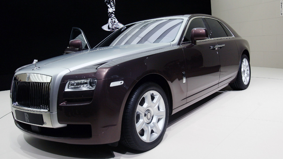 Prices For The Rolls Royce Ghost Start At 200 000 But That Can Double When