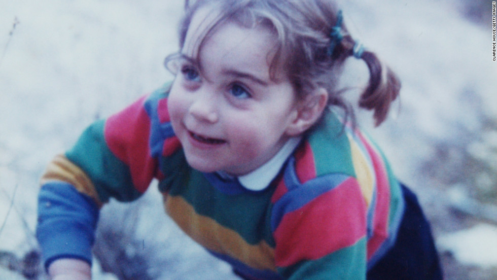 Kate, the eldest of three children, grew up in a prosperous middle-class family; they lived in Amman, Jordan, for two years in the 1980s. A sporty child, Kate attended elite Marlborough College.