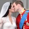 Kate Middleton Prince William Royal Wedding kiss