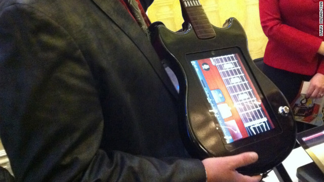 Ion Audio is breathing new life into the plastic guitar with a new gizmo called the Guitar Apprentice.