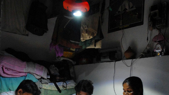 """The """"MightyLight"""" (pictured), developed by a small start-up in Delhi, India is already being used by 100,000 of the country"""