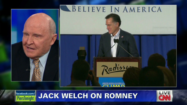 Welch: Romney best candidate in 50 years