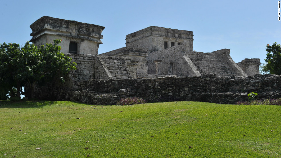 Tulum, on Mexico's Yucatan Peninsula was once a walled city, an important trading post with several temples and a port.