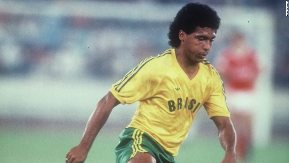 Romario of Brazil plays against the USSR during the 1988 Seoul Olympics. He later ran for mayor in his home country.