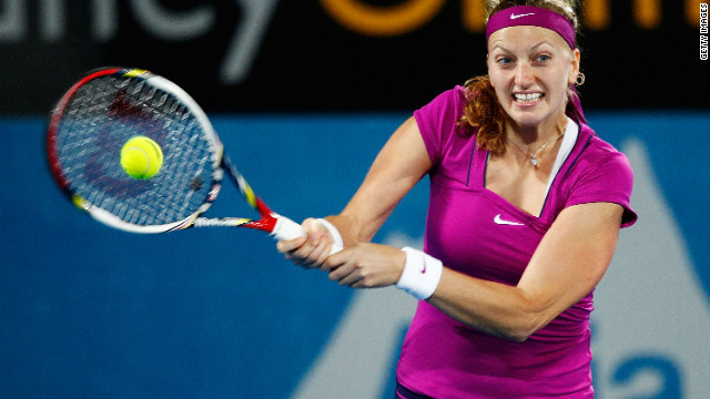 Czech rising star Petra Kvitova claimed the first grand slam title of her career at Wimbledon in July last year.