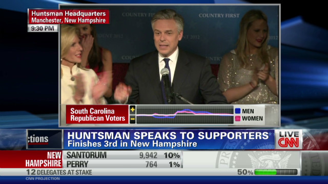 Huntsman: Third place is ticket to ride
