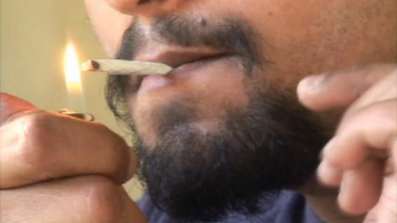 "Many plastic surgeons tell men with gynecomastia, or ""man boobs,"" to stop smoking pot."