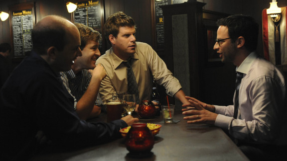 """Paul Sheer, Mark Duplass, Stephan Rannazzisi and Nick Kroll star in """"The League."""""""