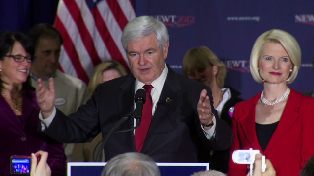 Newt Gingrich's attacks on Mitt Romney may work better in South Carolina, David Gergen writes.