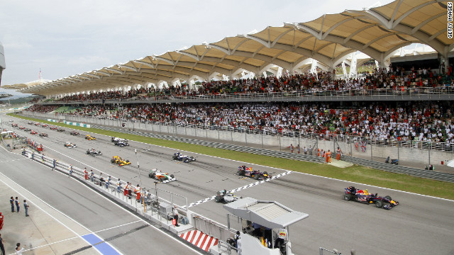 The Bahrain Grand Prix was due to be the opening race of the 2011 season, before being canceled.